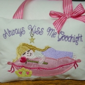 Always Kiss Me Pillow