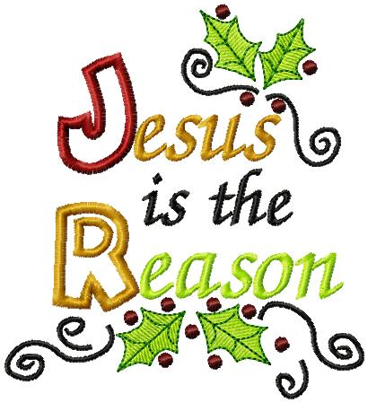 Gallery For > Clipart Jesus Is the Reason for the Season