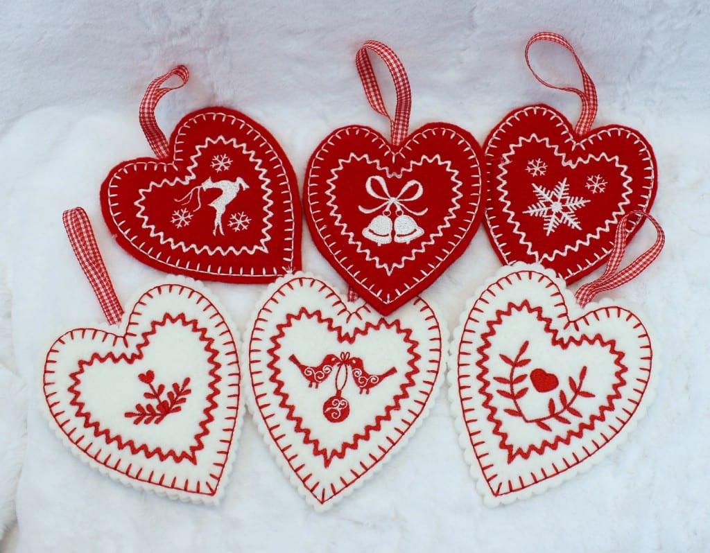 Christmas Hearts Combo - Oma's Place