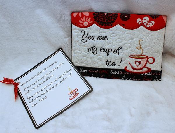 Cup of Tea Mug Rug · Oma's Place