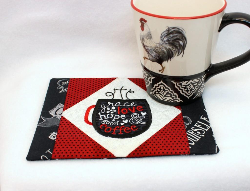 Grace Coffee Mug Rug Oma S Place