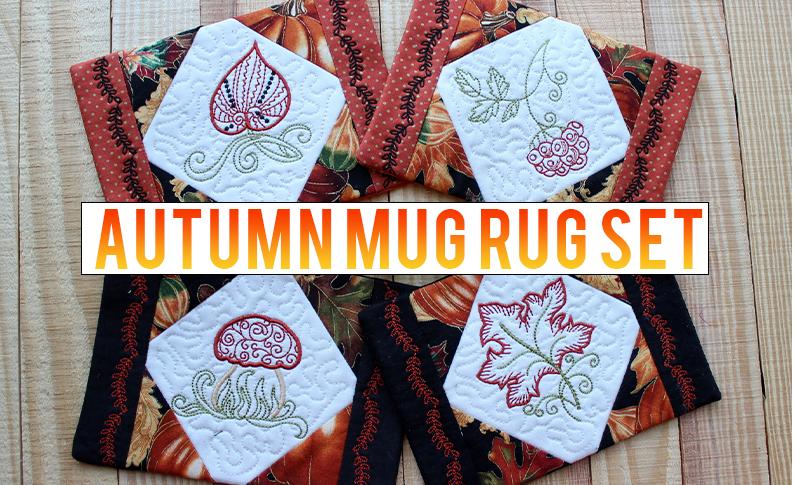 autumn-mug-rug-set