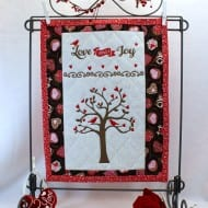 Love Joy Mini Quilt (7x12)