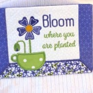 Bloom Mug Rug