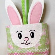 Bunny Gift Bag (for 6x10 hoops)