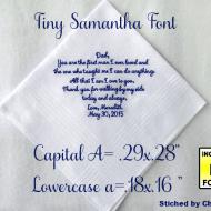 Tiny Samantha Font