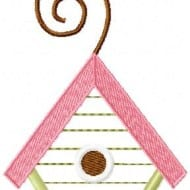 Applique Birdhouse 2