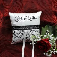 Elegant Ringbearer Pillow