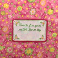 Applique Daisy Label