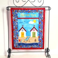 Applique Summer Mini Quilt (7x11)