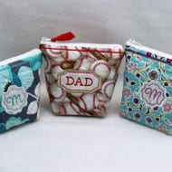 Top Zippered Bags (6x10 hoops)