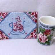Tea-rrific Mug Rug