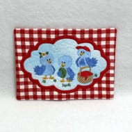 Summer Birdies Mug Rug 2