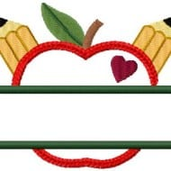 Applique Split Apple