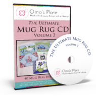 Ultimate Mug Rug CD Volume 2