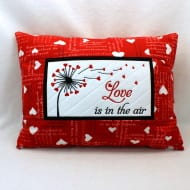 Love is in the Air Pillow (6x10)
