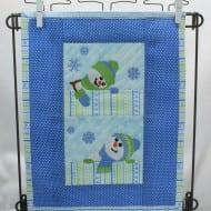 Snowmen Mini Quilt (6x10)