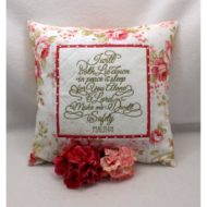 Psalm 4 Pillow