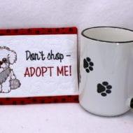 Doggie Mug Rug