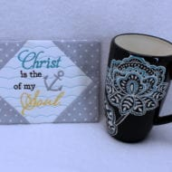 Christ is the Anchor Mug Rug (5x7)