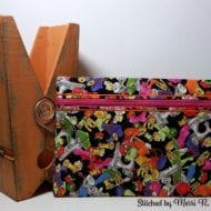 Quilted Zip Bag (8x12)