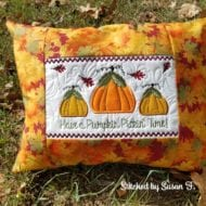 Pumpkin Pillow (6x10)