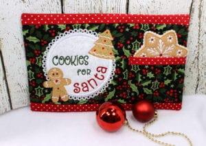 Santa Snack Mat (7×11)