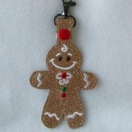 Free Gingerbread Snap Tag