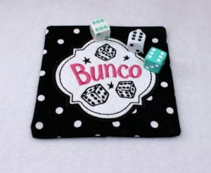Bunco Coaster (5×5)