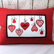 Hearts Pillow (6x10)