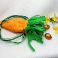 Carrot Draw String Bag (6x10)