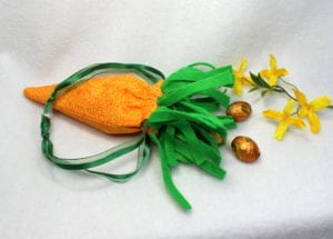 Carrot Draw String Bag (6×10)