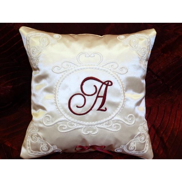 Heart Scroll Ring Bearer Pillow Pattern Omas Place