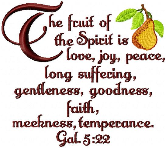 fruits of the spirit kjv is pumpkin a fruit