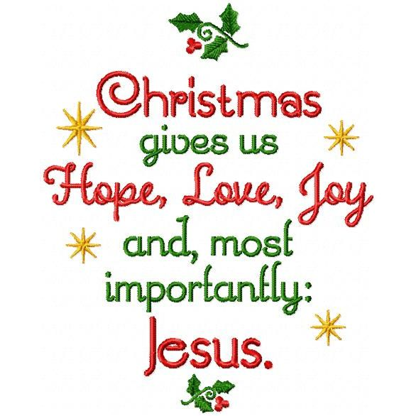 Hope, Love, Joy