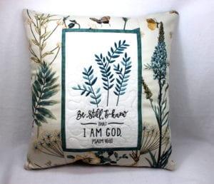 Be Still Pillow (7×11)