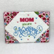 Awesome Mom Mug Rug