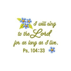 Sing to the Lord (single)