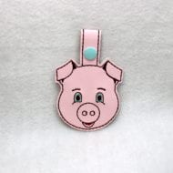 Lil' Pig Snap Tag