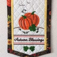 Autumn Blessing Banner (7x11)