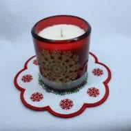 Snowflake Candle Mat (7x7)