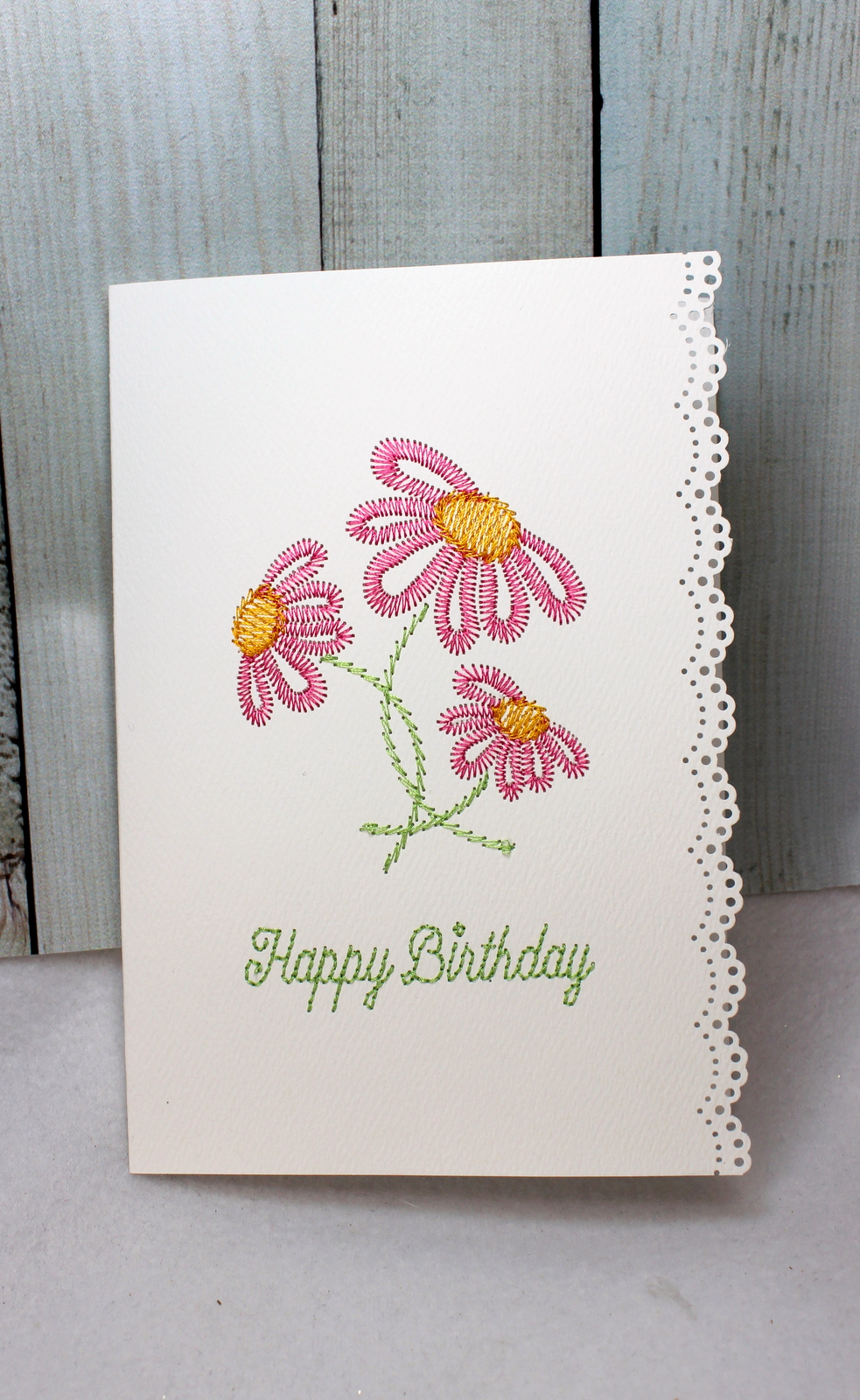 happy birthday greeting card · oma's place