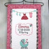 Baby Girl Banner (7x11)