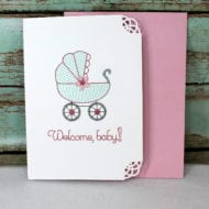 Baby Girl Greeting Card (5x7)