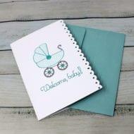 Baby Boy Card (5x7)