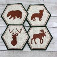 Woodland Coasters (5x7)