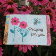 Praying for You Mug Rug (MR)