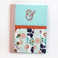 Striped Composition Book Cover (7x11)