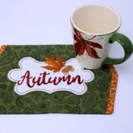 Autumn Mini Placemat (8x12)