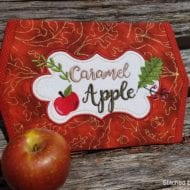 Apple Mini Placemat (8x12)